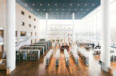 Malmö City Library, Sweden - Henning Larsen Architects