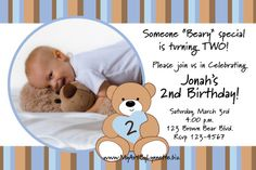 teddy bear birthday party | have a beary special teddy bear birthday party with these cute photo ...