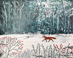 Fox in the Wood