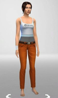 Tank and Bandage at ThatMalorieGirl via Sims 4 Updates