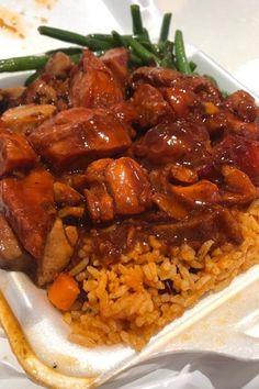 Bourbon chicken🙌, jambalaya rice🍚, honey mustard chicken, and green beans✌ Jambalaya Rice, Chicken Jambalaya, Best Chicken Dishes, Chicken Recipes, Bourbon Recipes, Bourbon Chicken, Honey Mustard Chicken, Boneless Chicken Breast, Green Beans
