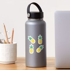 """""""Pineapple Pattern"""" Sticker by TCMstar 