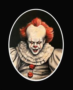 A PORTRAIT OF PENNYWISE .