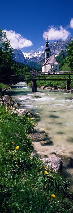Ramsau, worlBavarian Alps, Germany