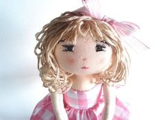 Rag doll sewing pattern Instand PDF download in by MyDollPattern ❤️