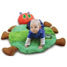I love this Very Hungry Caterpillar Plush Playmat!!! This website has everything Eric Carle :)