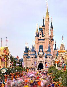 Main Street U.S.A. Disney World - Orlando, Florida by Express Monorail
