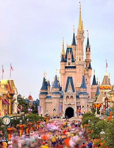 Main Street U.S.A. Disney World - Orlando, Florida