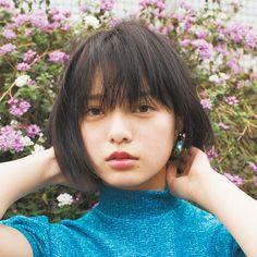 Yurina Hirate Girl Short Hair, Boyish, Japan Fashion, Kawaii Girl, Beautiful Asian Girls, Beauty Make Up, Asian Beauty, Cute Girls, Short Hair Styles