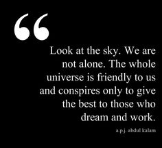 By A.P.J. Abdul Kalam, former president of India.
