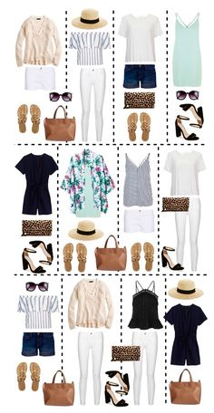 Packing ideas #vacationpacking