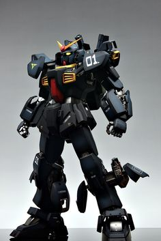lj7stkok:    gunjap - PG 1/60 RX-178 Gundam Mk-II Titans: Improved, Painted Build. Full photoreview No.37 Big Size Images