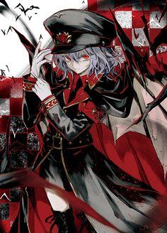Scarlet Agentsさん(http://scarletagents.blogspot.jp/)でCOMIC1☆7新作スリーブのイラストを描かせて頂きました!お嬢様のオリジナル衣装という事で、軍