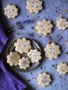 Lavender, Cookies, Eat, Recipes, Foods, Crack Crackers, Food Food, Biscuits, Cookie Recipes