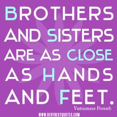 Quotes About Brothers Love  Noahandjude Brother Sister