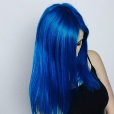 New hair color blue