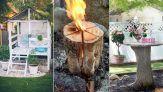 Sizi Yaz Moduna Sokacak Arka Bahçeniz İçin 25 Kendin-Yap Projesi