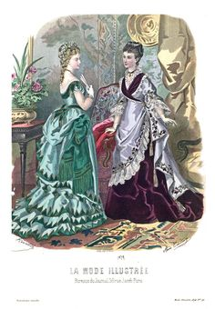 1874 La Mode Illustrée n°48