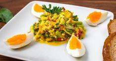 Mennyei Fitt tojássaláta recept! Zseniális fitt tavaszi tojássaláta recept, amit önmagában is fogyaszthatsz, vagy köretként szárnyasok mellé is kiválóan passzol. Próbáld ki ezt a finom tojássaláta receptet! ;) Risotto, Tacos, Healthy Recipes, Healthy Foods, Mexican, Eggs, Cooking, Breakfast, Ethnic Recipes