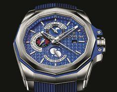 Mit der Corum Admiral's Cup AC-One 45 Tides ist eine Uhren-Ikone aller Freunde der Meere ist zurück, im neuen Look und mit neu gestalteten Anzeigen. Ihr mechanisches Uhrwerk zeigt Rhythmus und Höchststände der Gezeiten, kennt die Mondphasen und