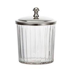 Anneline, Krukke og Lokk, Glass/Sølv, Lene Bjerre