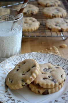 The View from Great Island | Milk Chocolate Chip Peanut Butter Shortbread Cookies Revisited