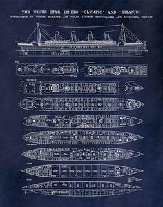 Titanic Model, Real Titanic, Titanic Sinking, Titanic Ship, Titanic History, Titanic Photos, Deck Plans, Boat Plans, Titanic Poster