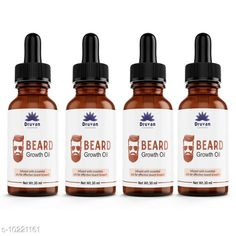 Beard Care Druvan Powerful Hair Beard Oil (Pack Of 4) Product Name: Druvan Powerful Hair Beard Oil (Pack Of 4) Multipack: 4 Country of Origin: India Sizes Available: Free Size   Catalog Rating: ★4.5 (578)  Catalog Name: druvan oil beard oil made in india CatalogID_1850537 C146-SC1819 Code: 972-10221161-795