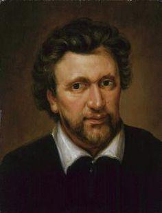 Benjamin Jonson by Abraham van Blyenberch.