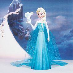 Diese Version von Elsa der Schneekönigin zum Ausdrucken ist einfach zauberhaft! Nimm Elsa überallhin mit!