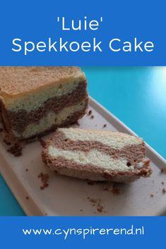 Mijn moeder bakt de lekkerste cakes en van mijn vaders Indische kant kreeg ik die heerlijke spekkoeken mee. Alleen kost het maken van een spekkoek erg veel tijd. Daarom heb ik het spekkoek recept van mijn Indische oma gecombineerd met het heerlijke cakerecept van mijn moeder. En voila! Hier is ie dan:Mijn 'luie' spekkoek cake! De lekkerste recepten vind je natuurlijk op Cynspirerend.nl! Pandan Cake, Sweet Bakery, Pie Cake, Indonesian Food, Chocolate Cookies, No Bake Desserts, Let Them Eat Cake, Minions, Cake Cookies