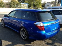 Subaru Legacy tuned by STI - Spotted outside UP Garage Subaru parts store during 3P Garage's Oct 2012 trip to Japan