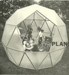 'How to Build Your Own Living Structures' by Ken Isaacs, 1974.