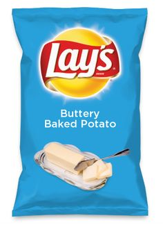 Wouldn't Buttery Baked Potato be yummy as a chip? Lay's Do Us A Flavor is back, and the search is on for the yummiest flavor idea. Create a flavor, choose a chip and you could win $1 million! https://www.dousaflavor.com See Rules.