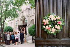 Church Wedding | Wedding Planning and Styling by Fête Studio |  Photography by Adam Barnes; Flowers by Flower Girls