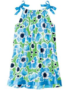 We love Hanna Andersson's  Pillowcase dresses @Hanna Andersson. #bestmomevercontest