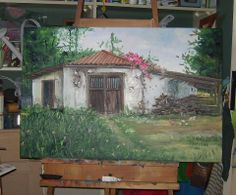 cochera antigua en campo chileno,ubicado en Leyda