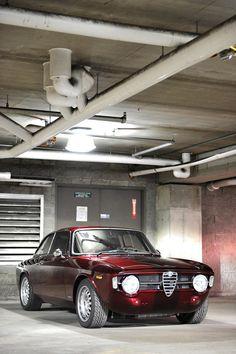 This Alfa Romeo GT 1300 Junior is for Life - Photography by Lucas Scarfone #alfa #alfaromeo #italiancars @automobiliahq
