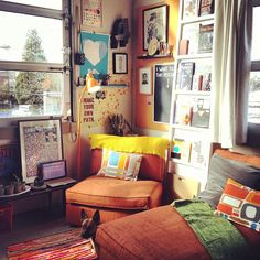 Small space living.