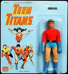 Aqualad action figure by Mego