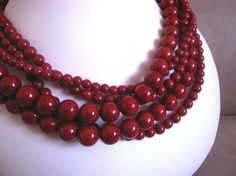 red jade necklace #necklace