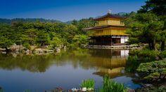 Kuil Kinkakuji di Kyoto