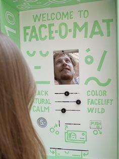 Face-o-mat: Social Portrait Machine - JOQUZ