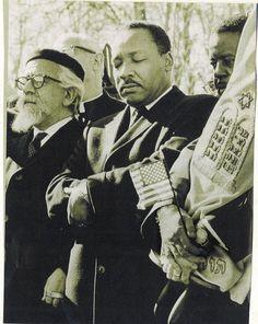Martin Luther King Jr. and Rabbi Abraham Heschel