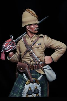 The Bench by Anders Heintz: Horan figure of the Week: Officer, 92nd (Gordon) Highlanders, 1879