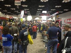 Our busy booth at FDIC 2012.