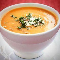 γλυκές δημιουργίες: Σούπα με κίτρινη κολοκύθα(βελουτέ)