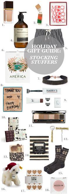 Gift Guide: Stocking Stuffers | Sacramento Street | #gifts #stockingstuffers #holiday #gifting