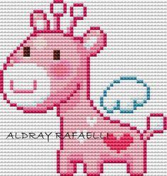 Oi gente!!!! voces nem imaginam o quanto eu estou feliz, por fazer essa homenagem a minha amiga!!!! Ela é uma fofa!!!! e eu a tenho como am... Free Cross Stitch Charts, Baby Cross Stitch Patterns, Mini Cross Stitch, Cross Stitch Cards, Simple Cross Stitch, Cross Stitch Designs, Cross Stitching, Cross Stitch Embroidery, Baby Knitting Patterns