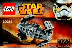 View LEGO instructions for TIE Advanced Prototype set number 30275 to help you build these LEGO sets